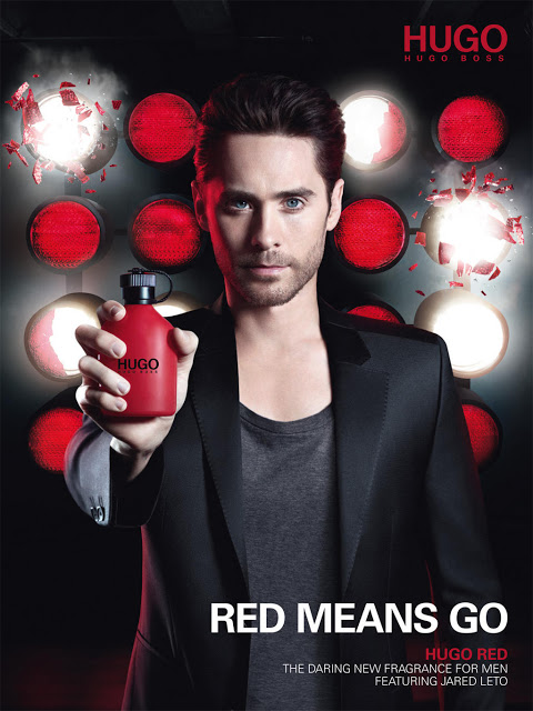 Jared Leto Hugo Boss Red