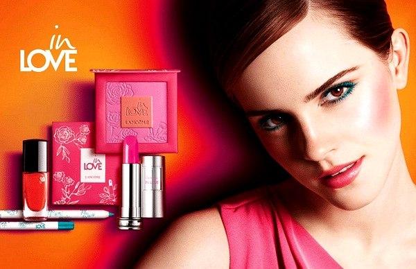 Lancome In Love Emma Watson