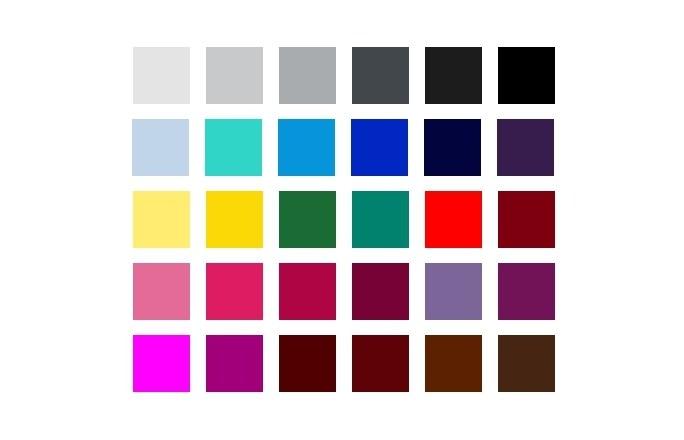 Typ urody zima paleta barw
