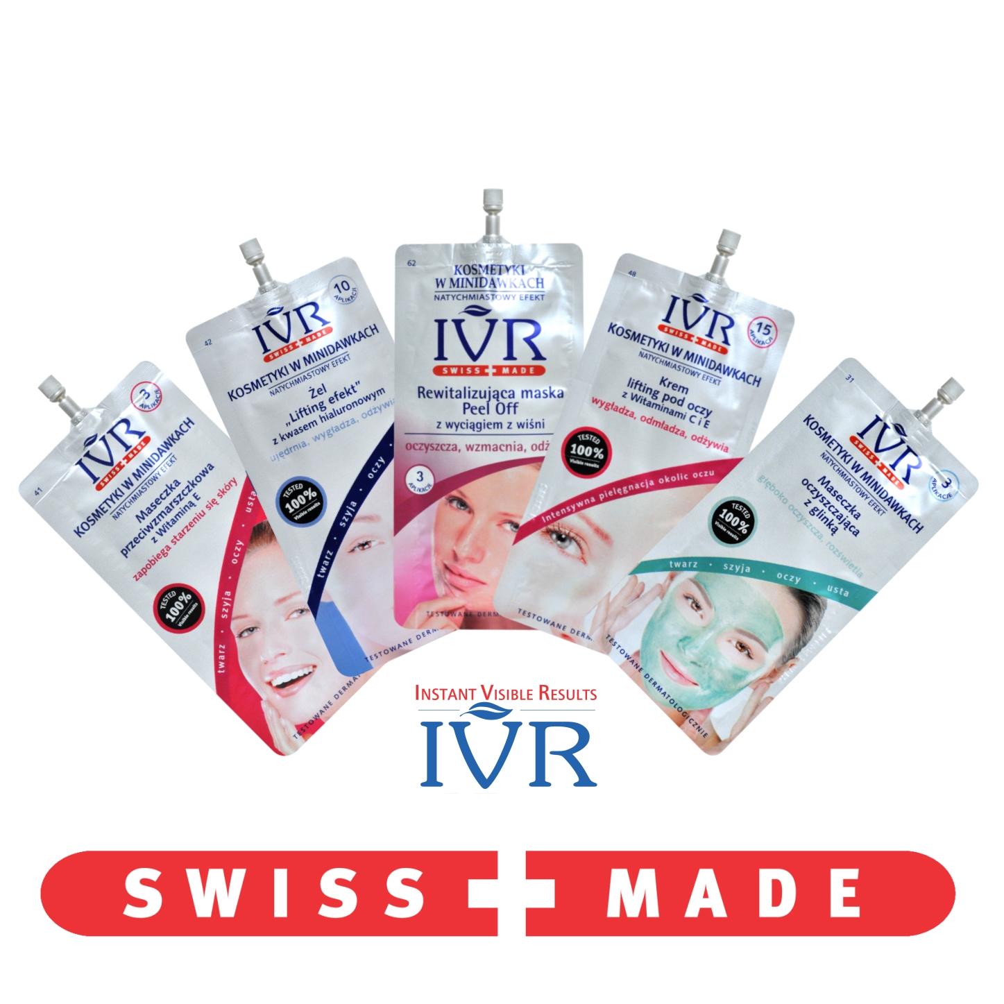 IVR - Kosmetyki w minidawkach