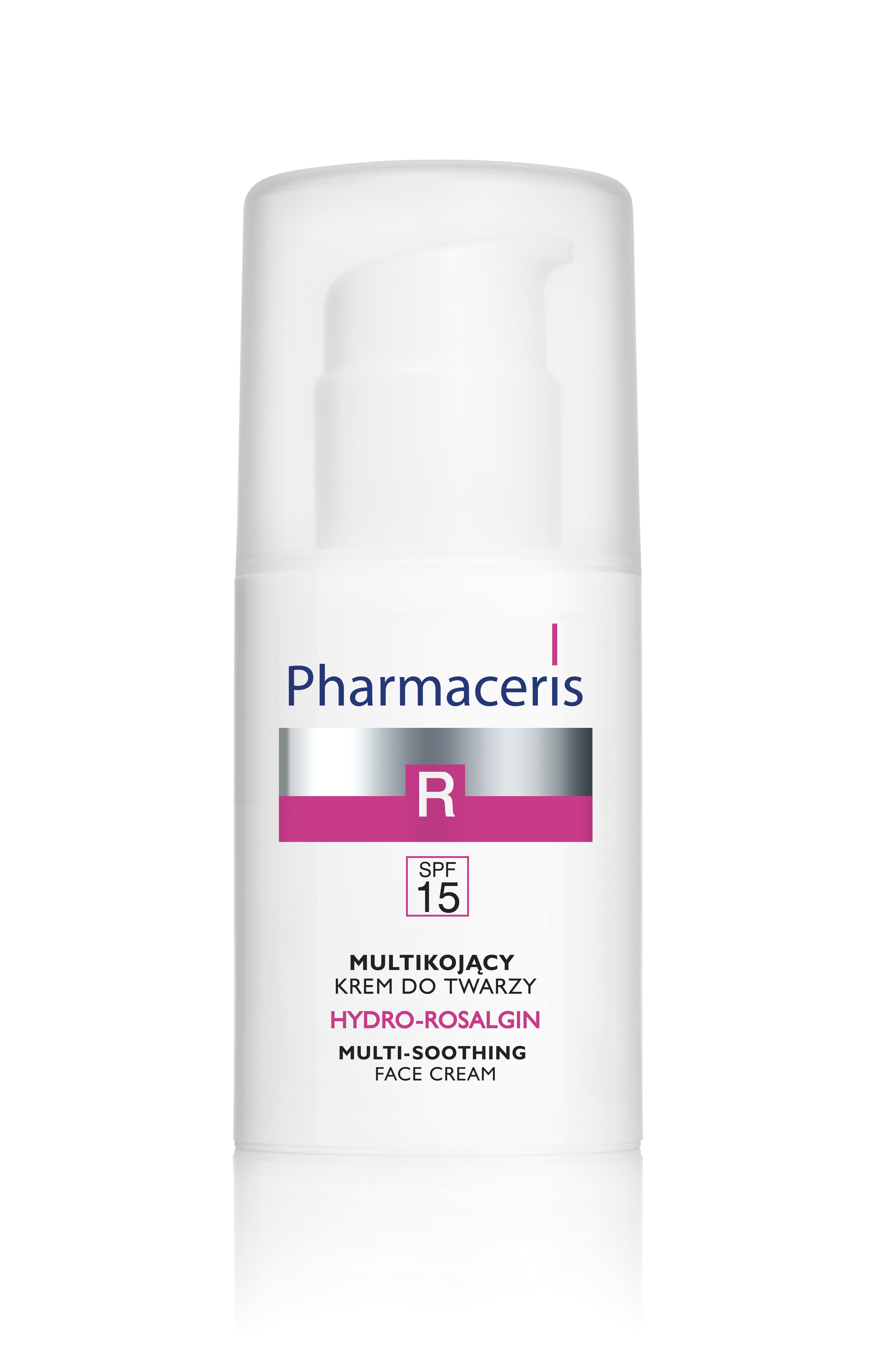 HYDRO-ROSALGIN Multikojący krem do twarzy dla skóry tłustej, mieszanej i wrażliwej SPF 15