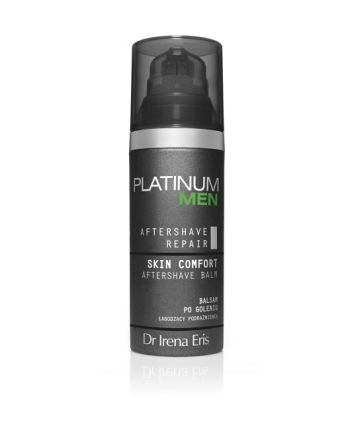 Platinum Men  AFTER SHAVE REPAIR SKIN COMFORT AFTERSHAVE BALM - Balsam po goleniu łagodzący podrażnienia na dzień
