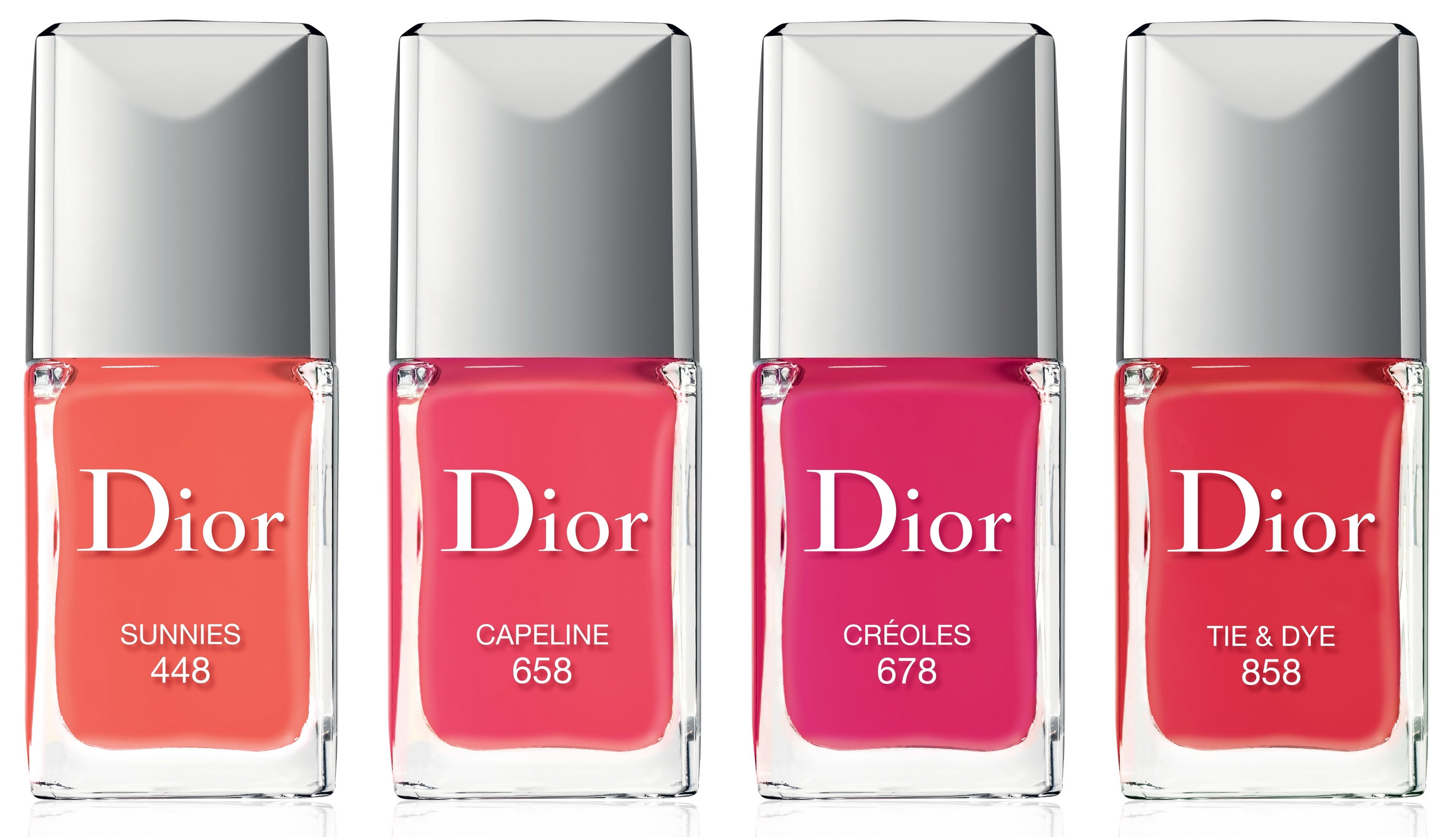 Dior Vernis Summer Mix