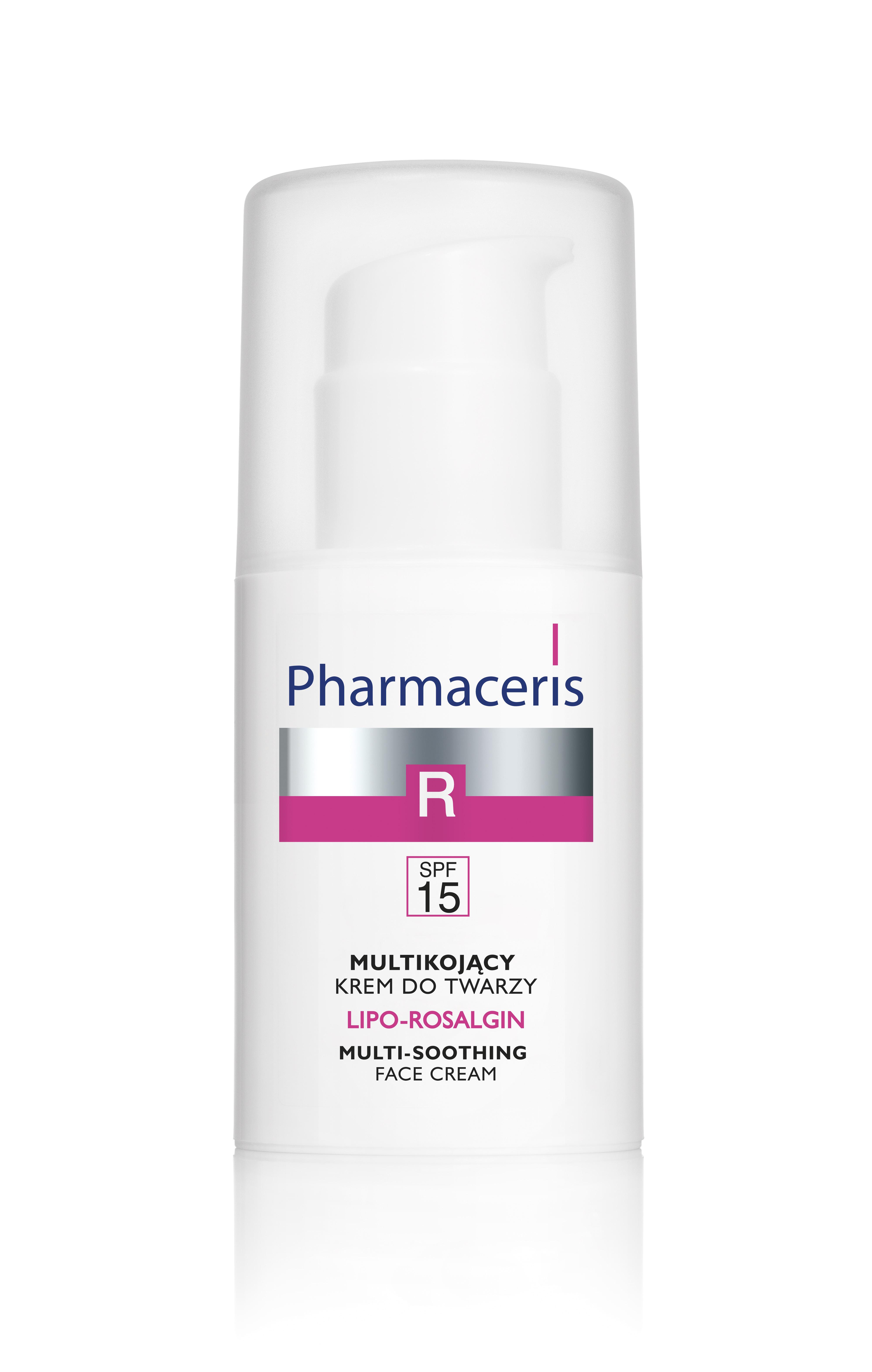 LIPO-ROSALGIN Multikojący krem do twarzy dla skóry suchej, normalnej i wrażliwej SPF 15
