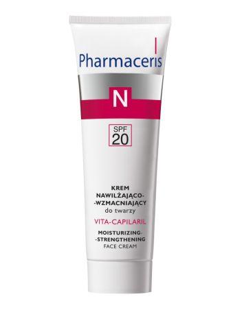 Pharmaceris N Vita-Capilaril Kremie nawilżająco-wzmacniającym SPF 20