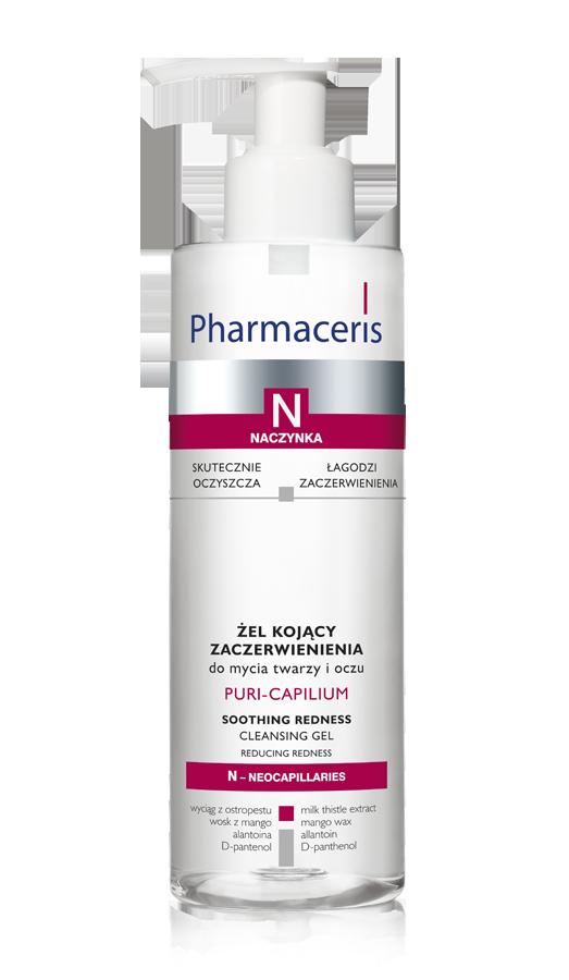 Pharmaceris N żel kojący zaczerwienienia do mycia twarzy i oczu