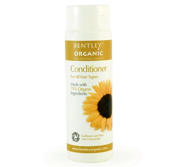 Odżywka do Włosów ze Słonecznikiem, Masłem Shea i Rumiankiem Bantley Organic