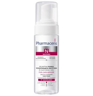 Pharmaceris N  PURI-CAPILIQMUSSE Delikatna pianka wzmacniająca naczynka do mycia twarzy i oczu