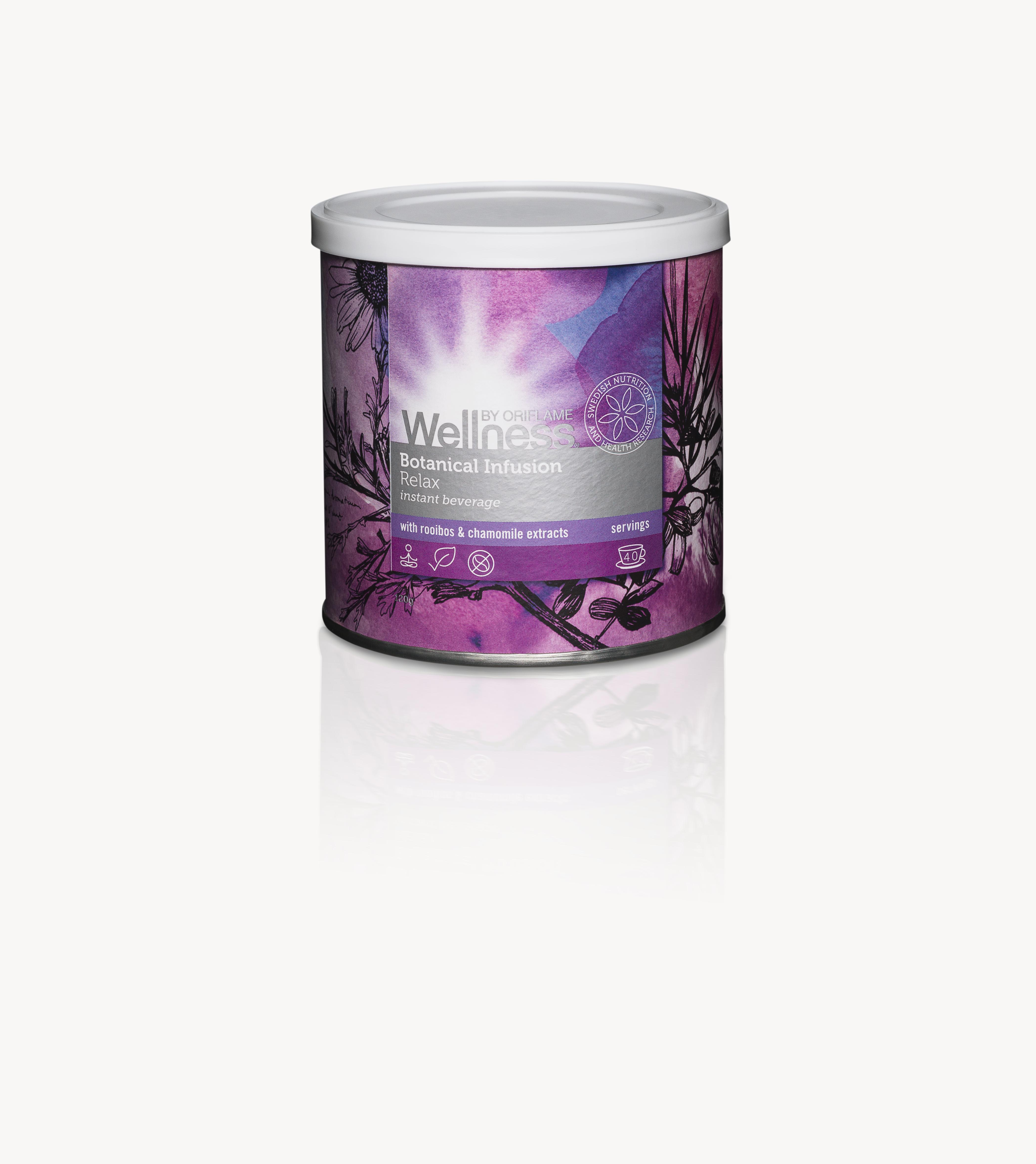 botanical infusion relaksujaca mieszanka Wellness by Oriflame