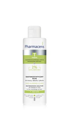 SEBO-ALMOND-CLARIS Bakteriostatyczny płyn do twarzy, dekoltu i pleców 2% kwasu migdałowego