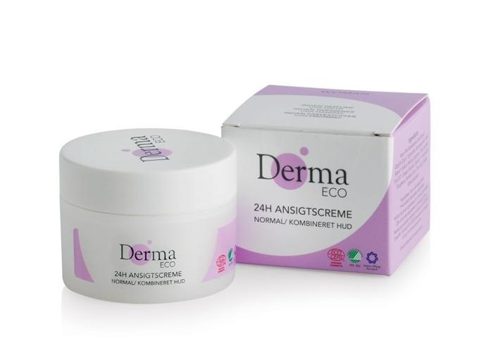 Derma Eco Woman - Krem do cery normalnej i mieszanej