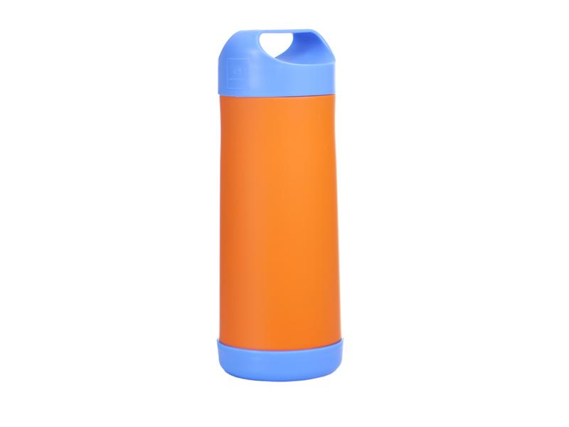 Termos do butelek i do żywności niebiesko- pomarańczowy 40 settimane