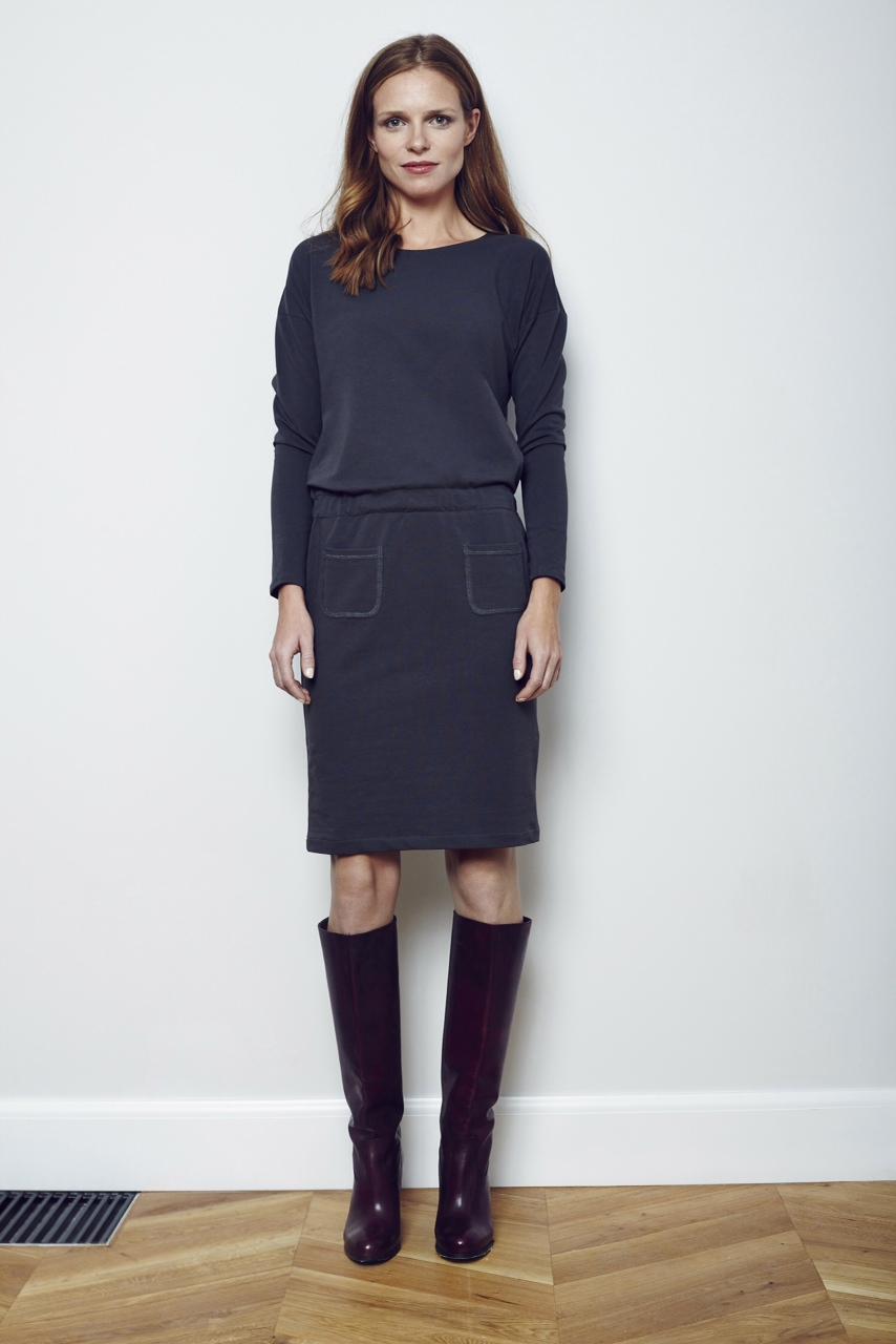 NADIA - sukienka z kieszonkami 350 zl