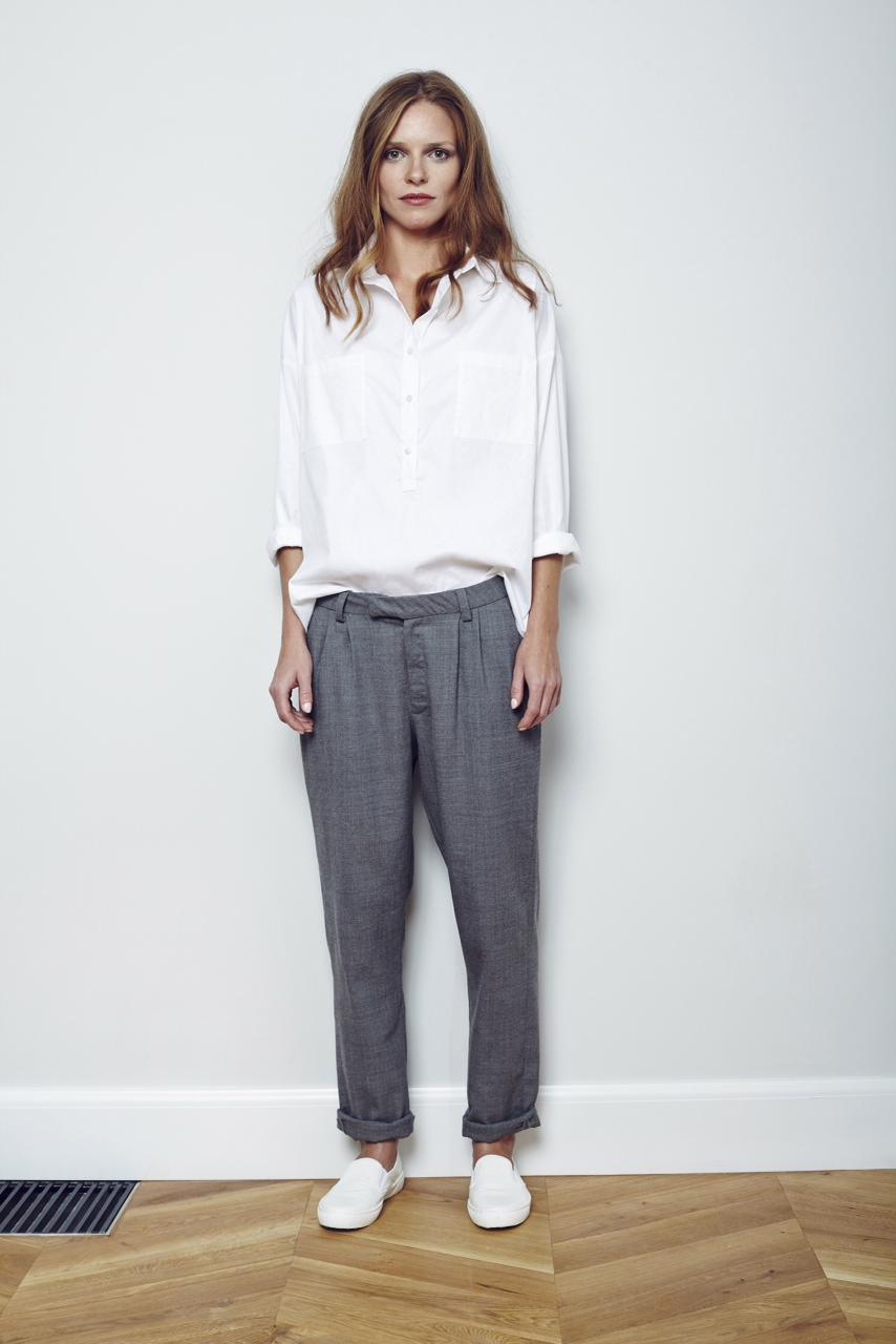 NINA - spodnie w męskim stylu 380 zl